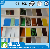 building materials roof tiles galvalume prepainted steel coils from Jiangsu Wuxi