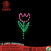 Outdoor LED easter flower christmas light for holiday