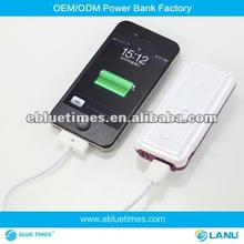 Hot sale rechargeable Universal Portable Power Bank for mobile phone, IPAD, carmera