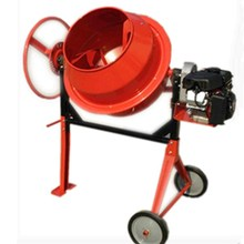 350L mini concrete mixer with pump