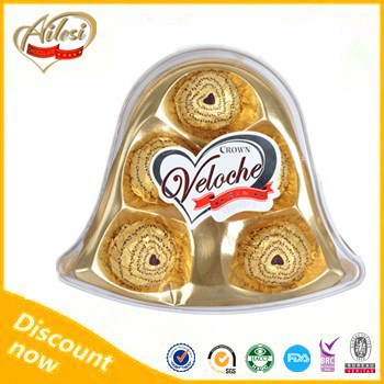 High quality tin box chocolate/stone shaped chocolate/compound chocolate