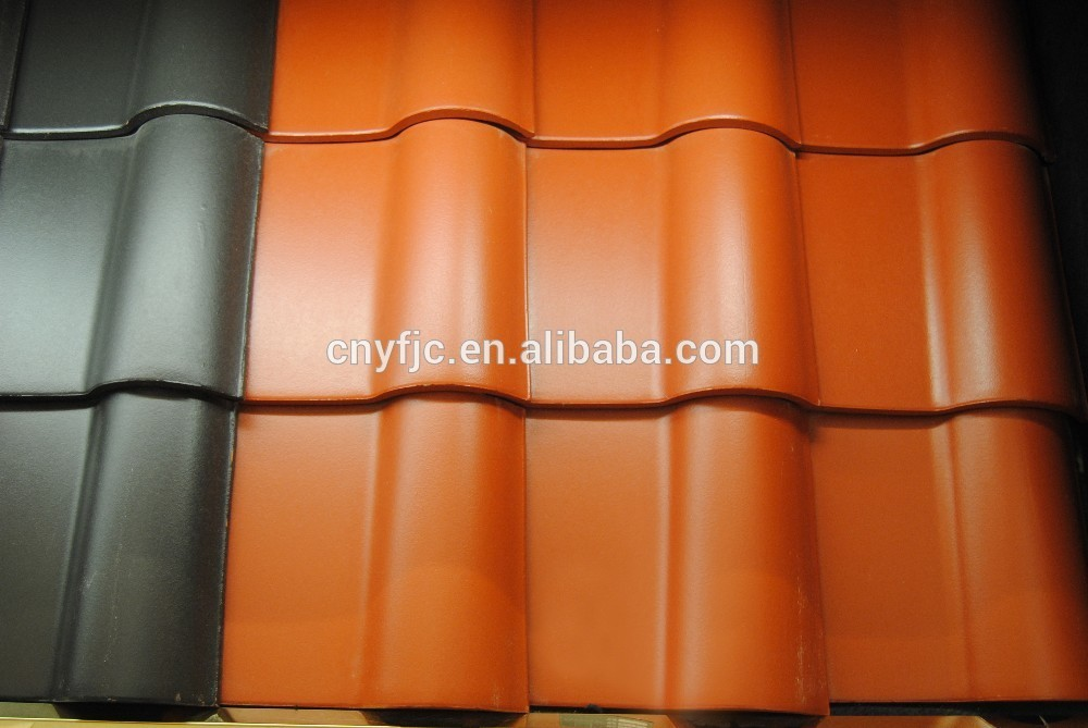 2016 IVON High Quality Clay Spanish Roof Tile clay roof tiles for sale