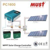 Solar Tracking Charge Controller with MPPT tracking 20A