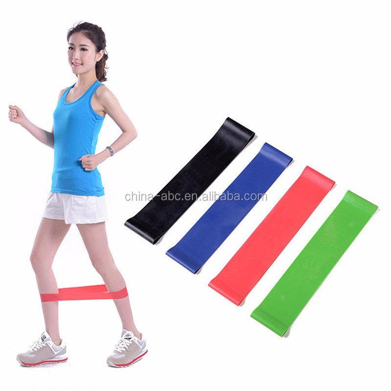 ABC Fitness Rubber Pull Up Strength Resistance Bands Gym Training Sports Exercise Loop Bands Workout Bands Power Latex