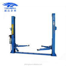 2017 China cheap car auto lift 3000 with electric release Tongda CE used 2 post car lift for sale