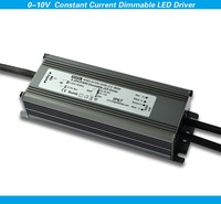 dimming led transformer 0-10v dimmable constant current pwm led driver supply with aluminium cover