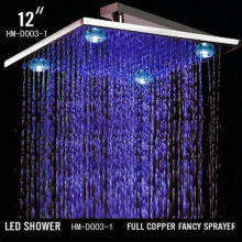 High quality 12inch antique complete shower head led