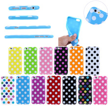 Polka Dots soft mobile phone case,for iphone 6 plus case