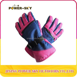 High Quality Waterproof Warm Mitten Ski Gloves In China