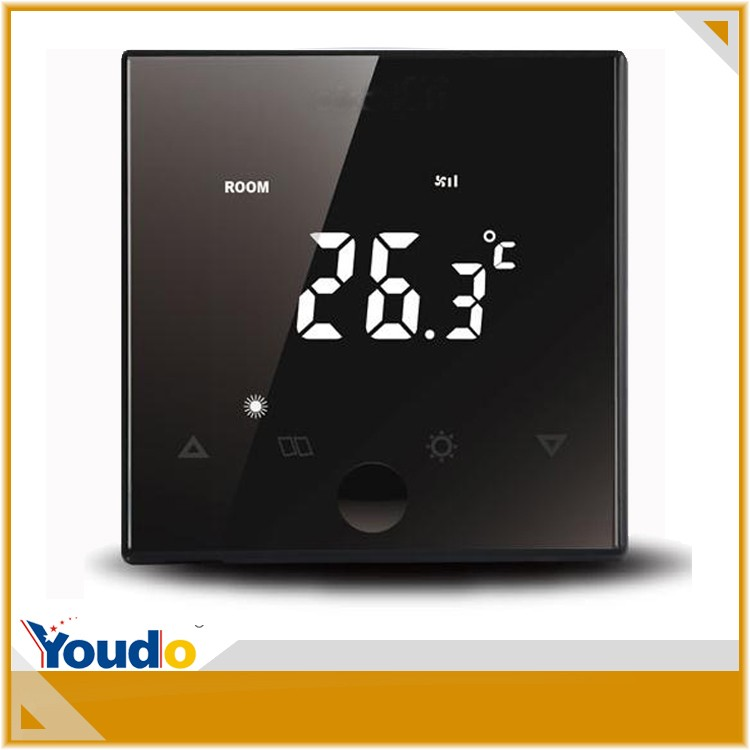Hot sale CE Certificate digital touch screen modbus room thermostat