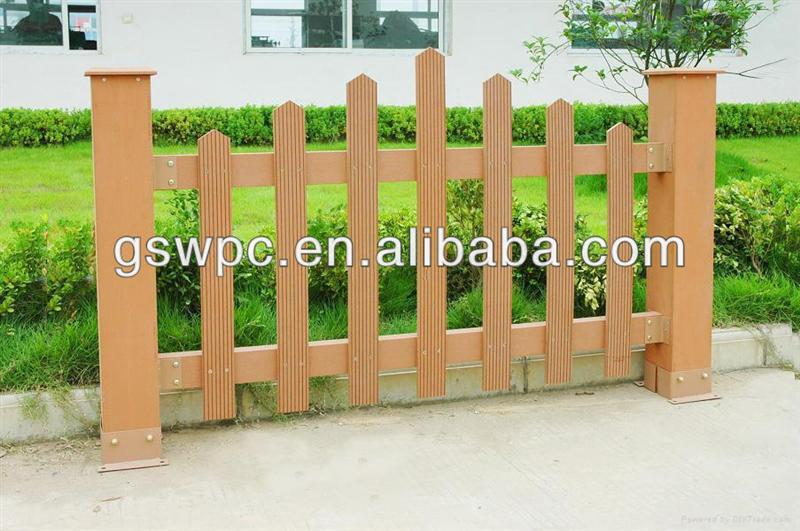 High quality WPC composite decking for garden fence