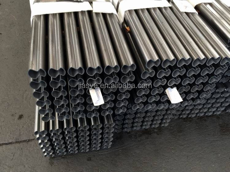 Abnormal Shape Welded Steel Tube For Muffler Exhaust Pipe