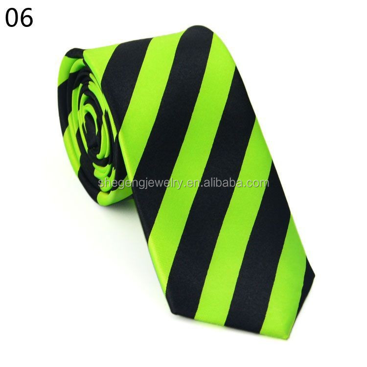 Strips Boys Mens Neckwear Neck Tie Necktie