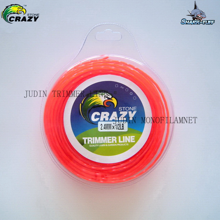 Brush Cutter Spare Parts 0.5lb Nylon Strimmer Line