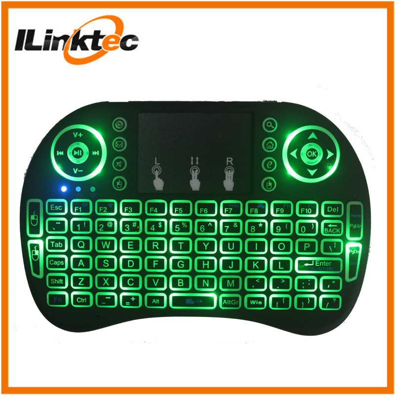 Low Price wireless keyboard with mouse pad 2.4G mini keyboard remote controllers for smart TV