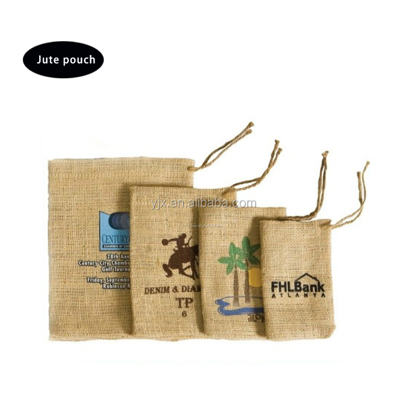 duffle bag jute burlap pouch for jewelry manufacturers