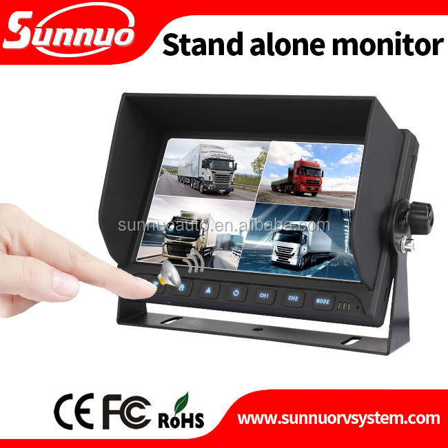 7 Inch TFT LCD Digital Color Display Screen Rear View Monitor System With Night Vision Rear View Reversing bus camera system