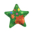 Merry Christmas Star shape decorative plate/sugar cane plate/snack plate