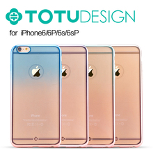 TOTU SOFT TPU ELECTROPLATING PHONE COVER FOR IPHONE 6S/6SPLUS/6/ 6PLUS