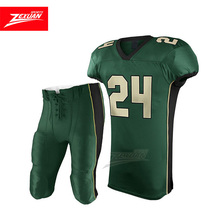 Sublimation authentic european youth football jersey