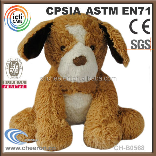 Wholesale best made toys plush dog stuffed animals