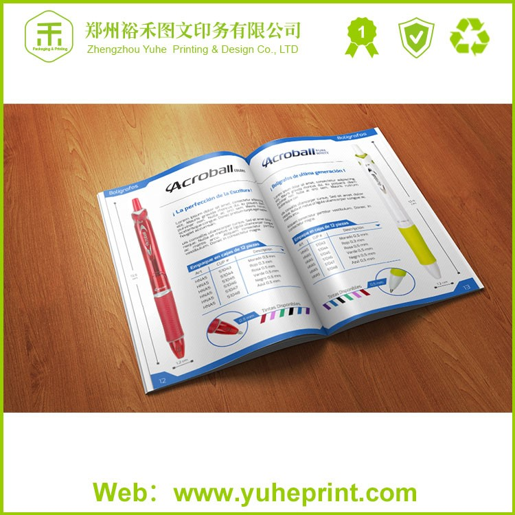 Professional direct factory short run CMYK cut-price brochure booklet pamphlet printing