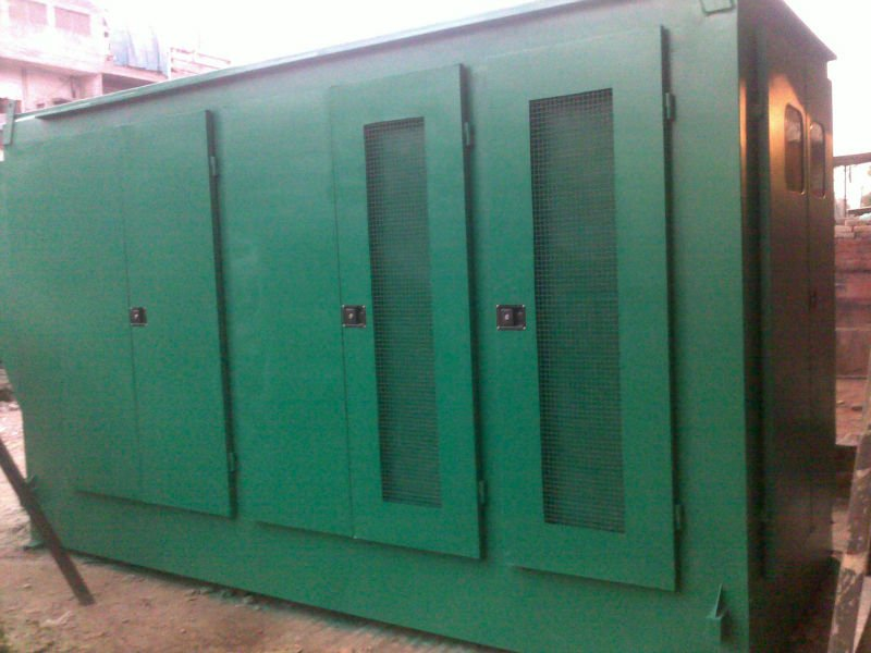 Soundproof Genset Canopies & Diesel tanks
