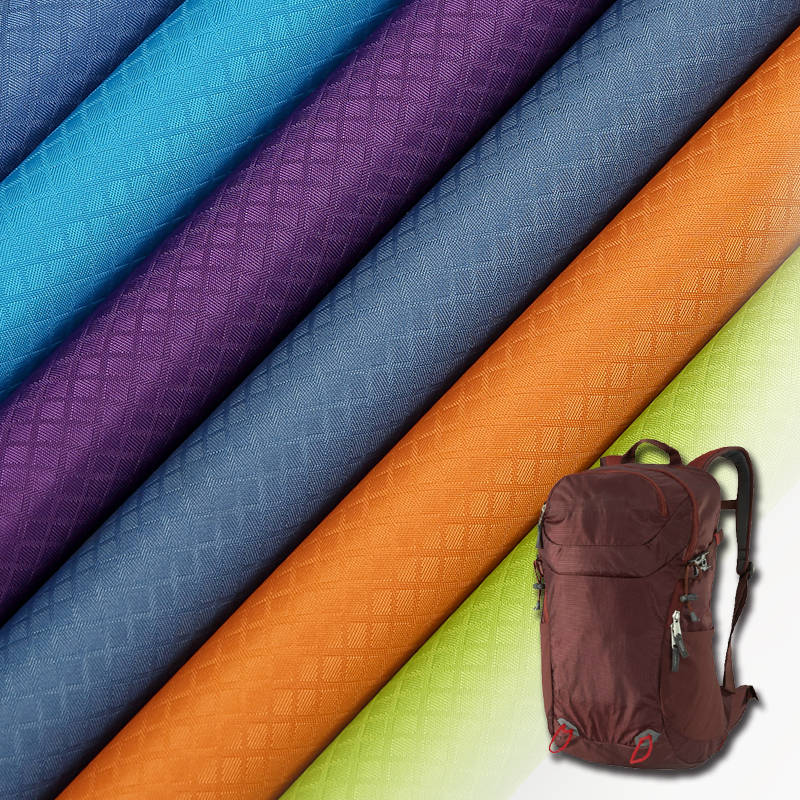 Eco-friendly hexagon nylon fabric for brands