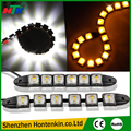 2pcs/Set Car 6 LED DRL Daytime Running Light Driving Daylight Turn Light