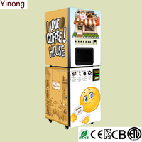 Commercial Instant Coffee Vending Machine