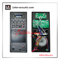 240 Watts Active Analog Amplifier plate AMA-01 series