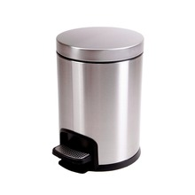 5L China Manufacturer Wholesale Eco-Friendly Stain Steel Trash Dusty Bins