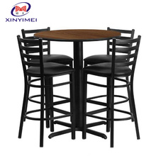 New Product Modern Design Portable High Bar Table And Chair