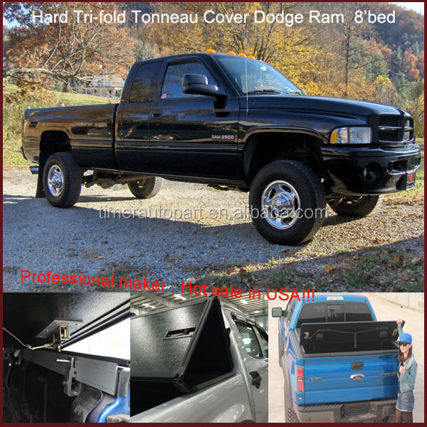 100% Fitment pickup truck caps for Dodge Ram 8'long bed 2002-2008