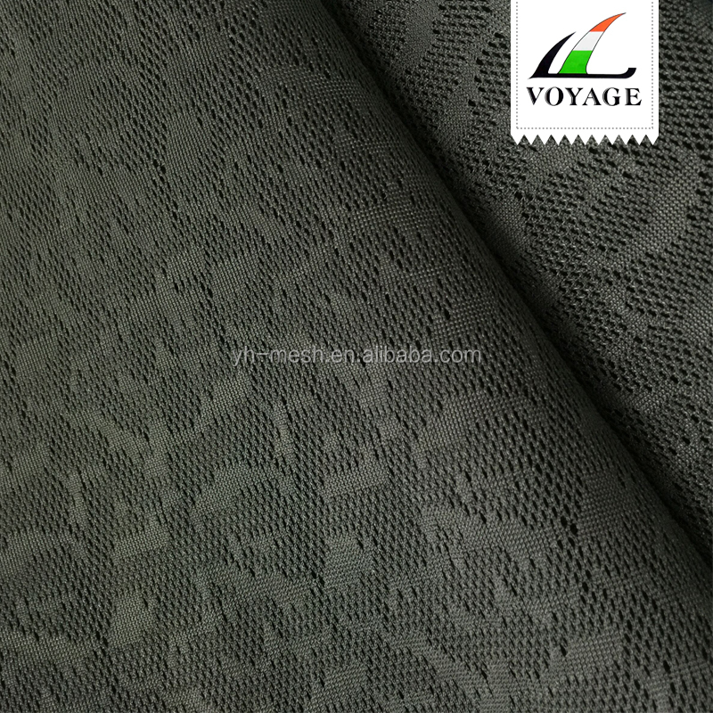 Breathable Shrink-Resistant jacquard mesh fabric