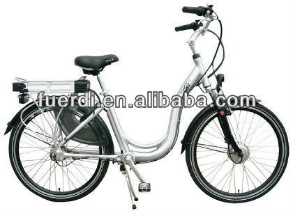 26'' aluminium 6 speeds electric bicycle chainless electric bike