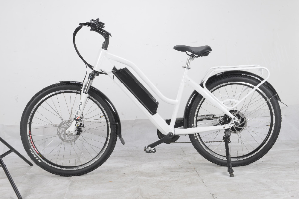 "aluminum electric bicycle / lady ebike / 26""electric bike"