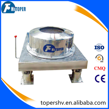 Used in oil, sugar, honey, milk and water separation high capacity centrifuge