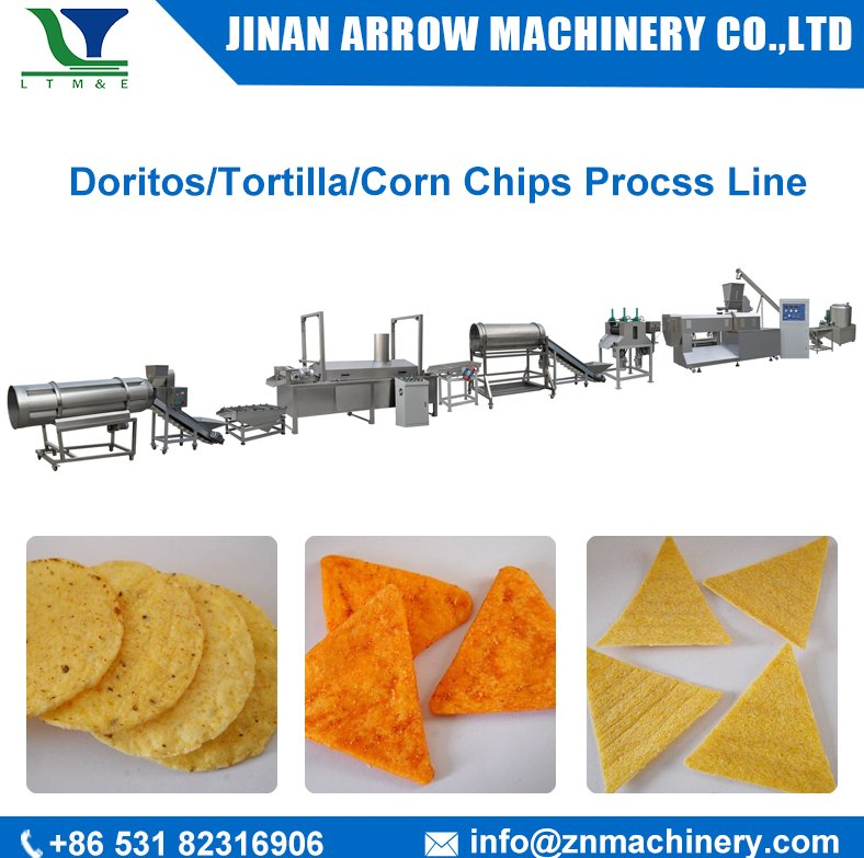 corn chips tortilla chips doritos making machinery