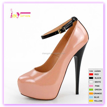 New Designer Very Fashion Elegant Women High Heel Platform Shoes Ladies Stiletto Office Dress Party Pumps With Buckle Strap
