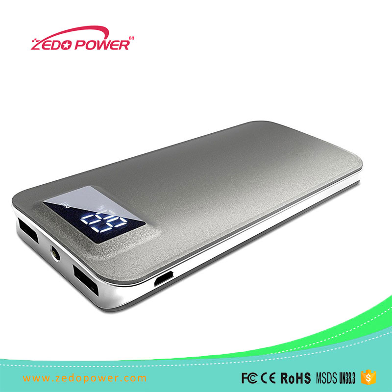 10000mAh Luxury External Battery Pack Power Bank Portable Charger for iPhone Samsung HTC Smartphones Tablets