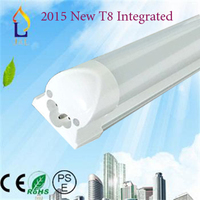 T8 fluorescent led Integrated tube light 15W 3FT SMD2835 72led high lumen 1400lm led light