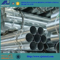 1 1/4 inch threaded galvanized steel pipe for irrigation