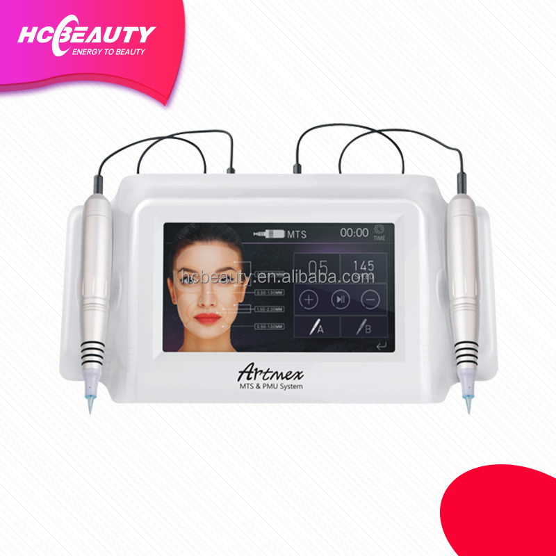 Salon use V8 facial makeup microblading eyebrow tattoo machine