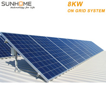 SUNGROW 8KW 8000w 3 phases poly panel solar plug and play system with eu from SUNHOME