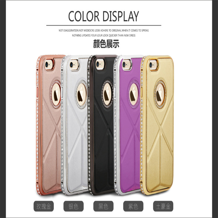 fancy leather cell phone cases with diamond for iPhone 6 6 plus, transformers cases with stand for iPhone 6