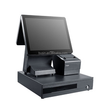 Guangdong POS manufacturer VTOP cashier counter cheapest pos terminal with printer & drawer for retail