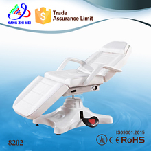 Kangzhimei wholesale hydraulic facial bed spa table tattoo salon chair 8202
