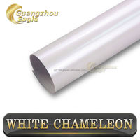 Vehicle Vinyl Wrap Glossy matte pearl White Chameleon Sticker For Car Body Decal