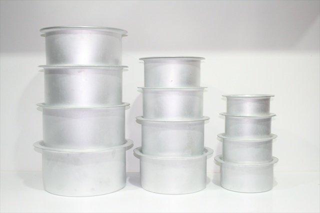 Aluminium Tope Set